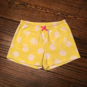 Mini Boden Toweling Shorts Size 8